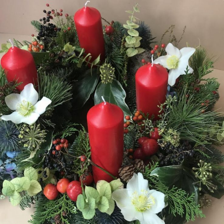 Advent wreath trad