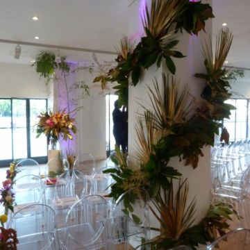 Flowers column