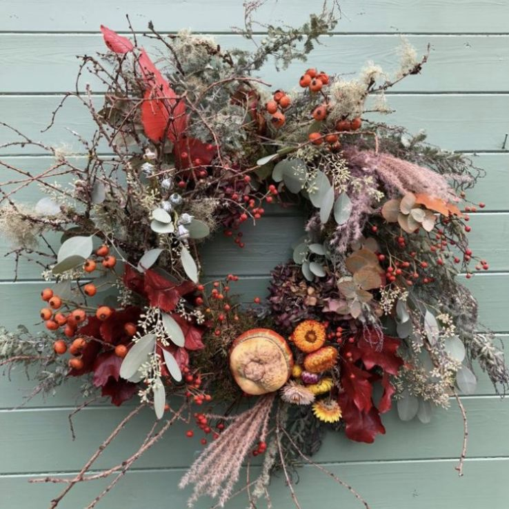 Wreath autumnal