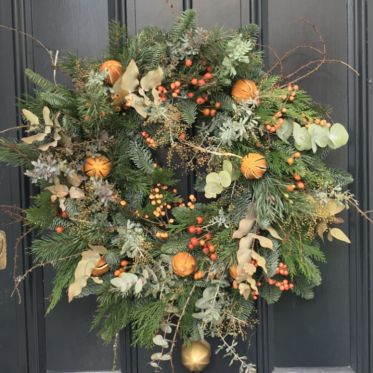 Wreath oranges
